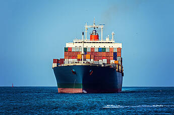 Cargo_Ship-front_view-blue_sky