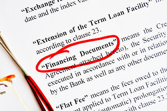 Financing_Documents_-_Definition