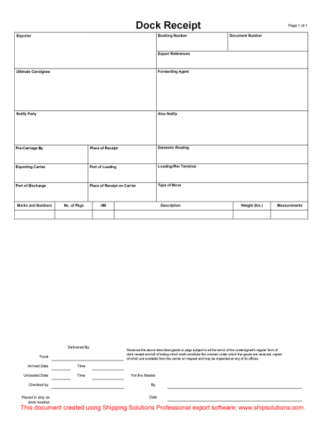 graphic regarding Printable Bill of Lading Form known as Down load Monthly bill of Lading Styles