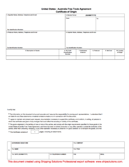 Fancy us certificate of origin form pictures best resume examples certificate of origin download free yadclub Image collections