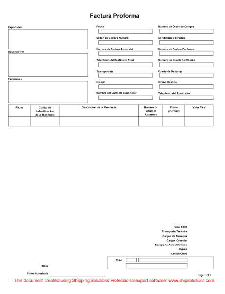 Centralasianshepherdus  Personable Proforma Invoice Spanish With Excellent Proformainvoicespanishthumbnail With Comely Software Invoice Also Invoice Stamps In Addition  Nissan Rogue Sl Invoice Price And Audi Q Invoice As Well As Invoice Jobs Additionally Preliminary Invoice From Shippingsolutionscom With Centralasianshepherdus  Excellent Proforma Invoice Spanish With Comely Proformainvoicespanishthumbnail And Personable Software Invoice Also Invoice Stamps In Addition  Nissan Rogue Sl Invoice Price From Shippingsolutionscom