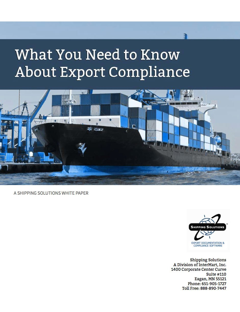 What You Need To Know About Export Compliance