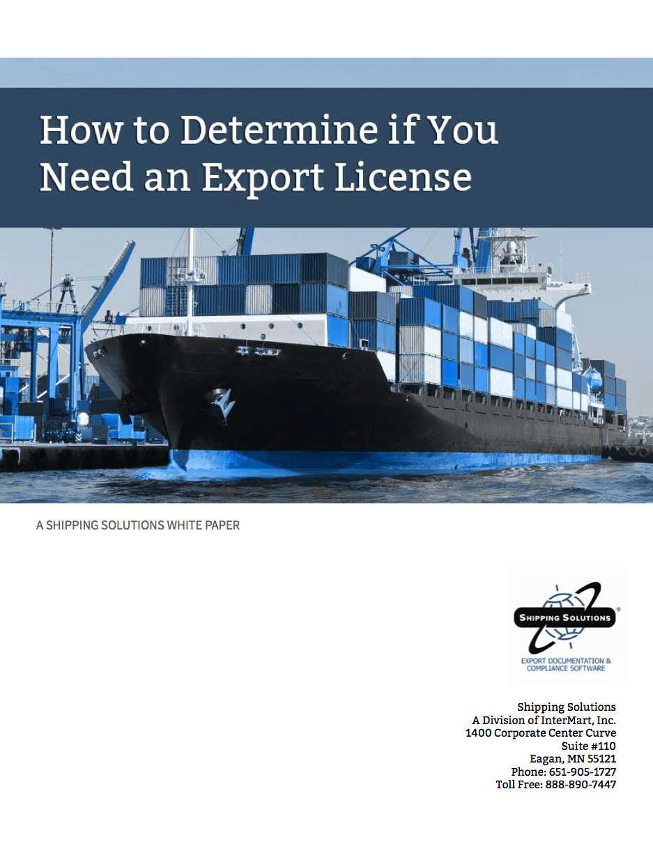 How To Determine If You Need An Export License
