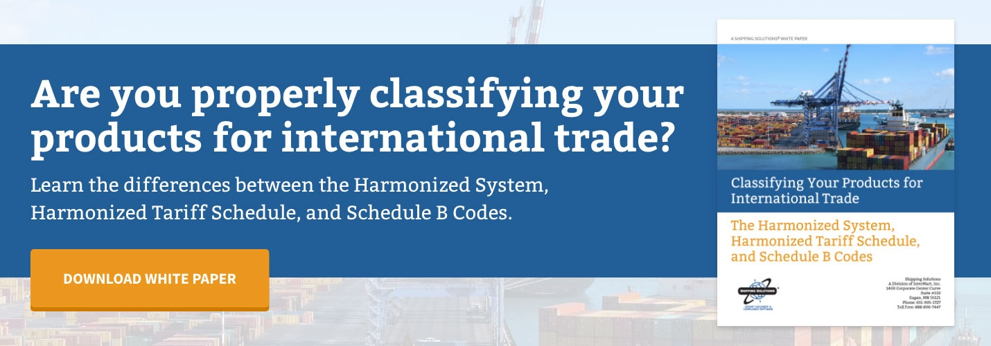 A Glossary of International Shipping Terms
