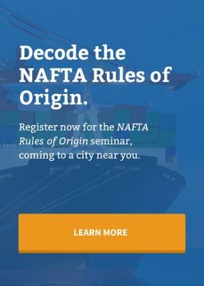 Understanding the NAFTA Rules of Origin