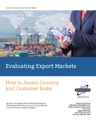 Evaluating Export Markets