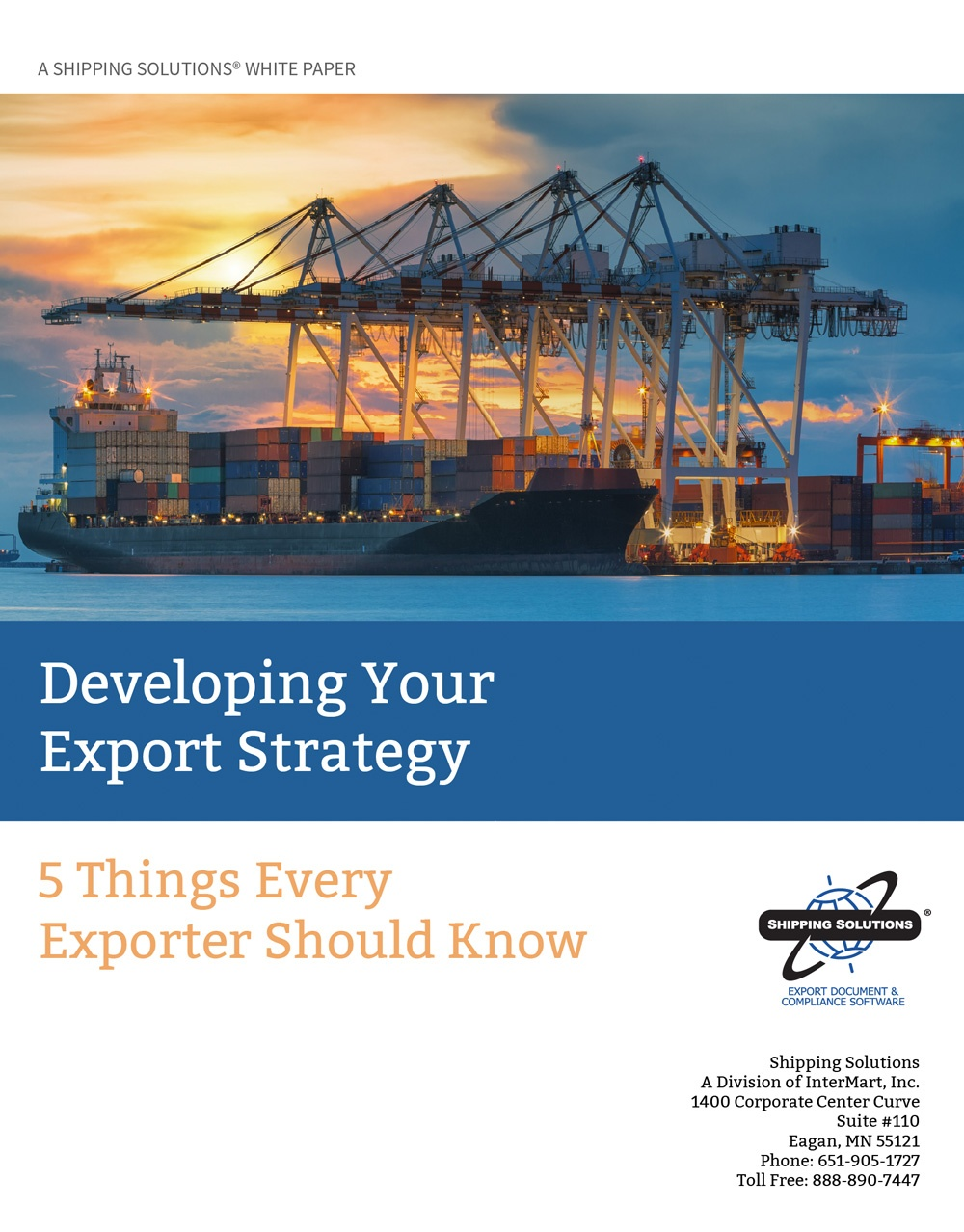 Developing Your Export Strategy