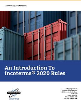 An Introduction to Incoterms 2020 - Shipping Solutions