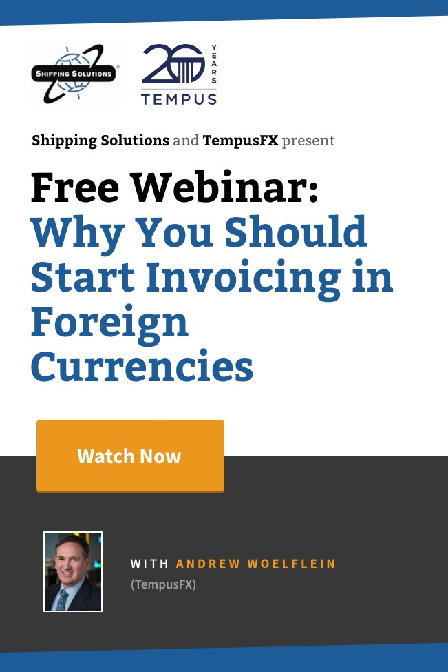 Webinar - Why You Should Start Invoicing in Foreign Currencies