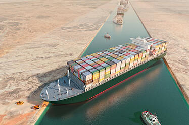 Container Ship Blocking Suez Canal   Shipping Solutions