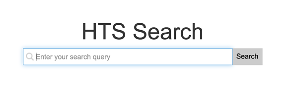HTS search