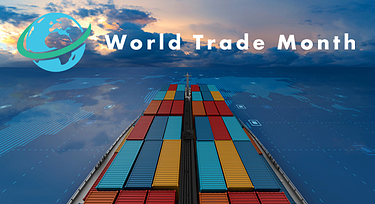 World Trade Month 2020 with logo