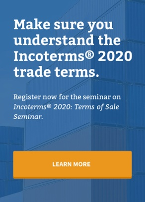 Incoterms 2010: Terms of Sale Seminar