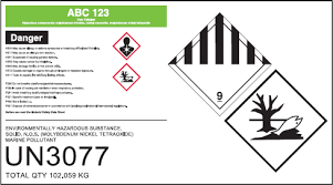 Marine Pollutant Marking | Shipping Solutions